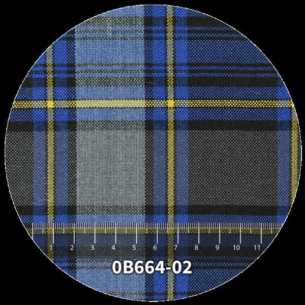 Tela escocés escolar modelo 0B664-02