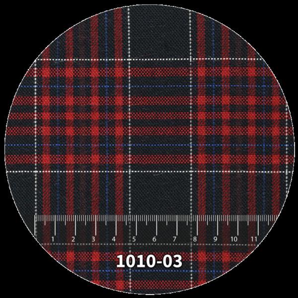 Tela escocés escolar modelo 1010-03