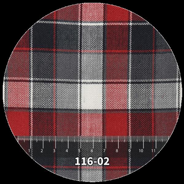 Tela escocés escolar modelo 116-02