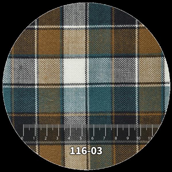 Tela escocés escolar modelo 116-03