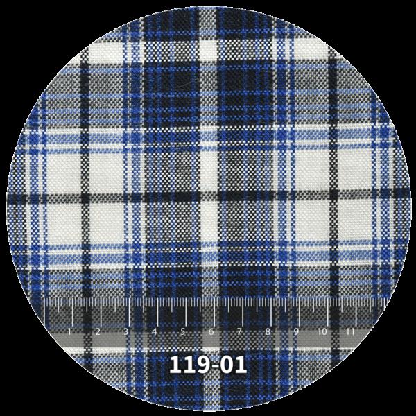 Tela escocés escolar modelo 119-01