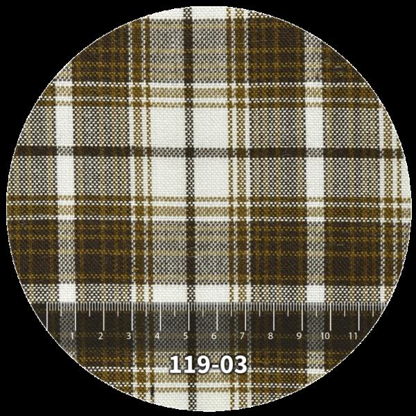 Tela escocés escolar modelo 119-03