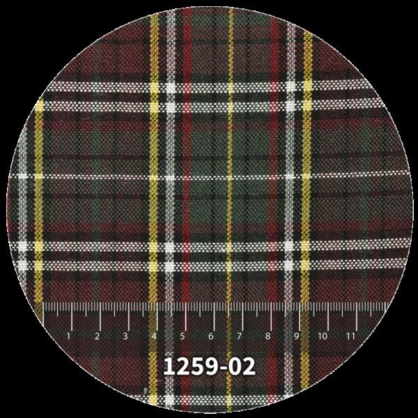 Tela escocés escolar modelo 1259-02