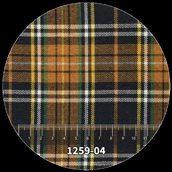 Tela escocés escolar modelo 1259-04
