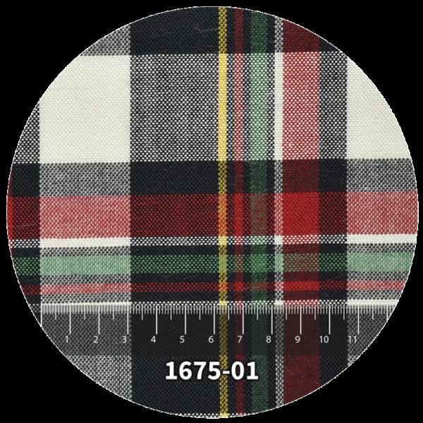 Tela escocés escolar modelo 1675-01