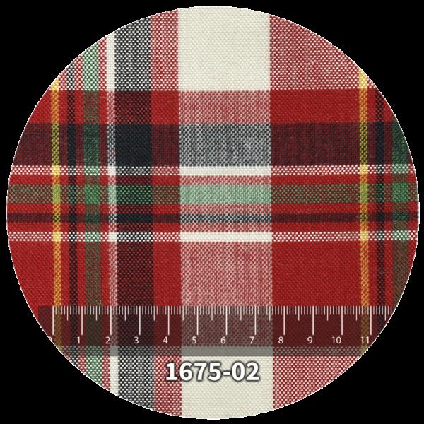 Tela escocés escolar modelo 1675-02
