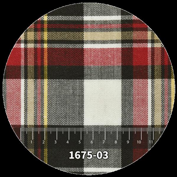 Tela escocés escolar modelo 1675-03