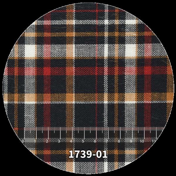 Tela escocés escolar modelo 1739-01