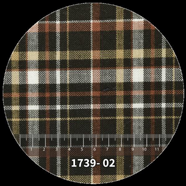 Tela escocés escolar modelo 1739-02
