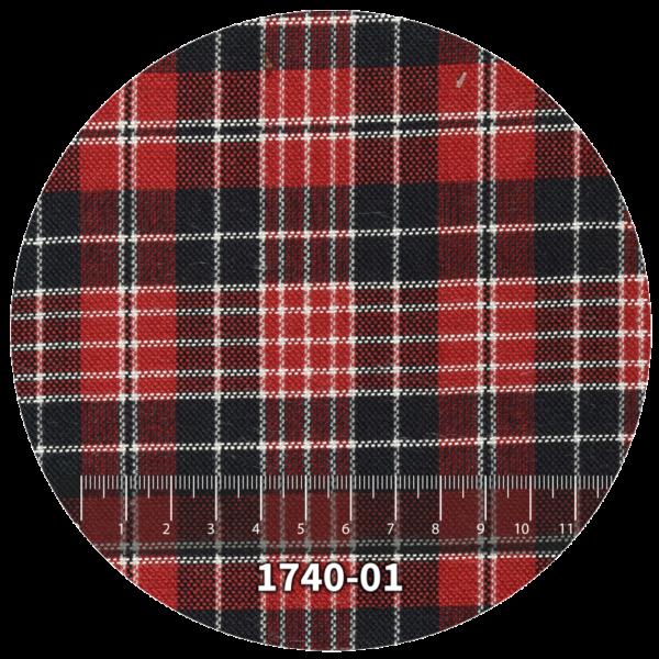 Tela escocés escolar modelo 1740-01