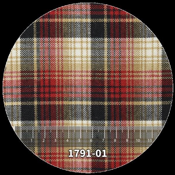 Tela escocés escolar modelo 1791-01