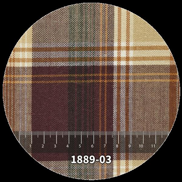 Tela escocés escolar modelo 1889-03