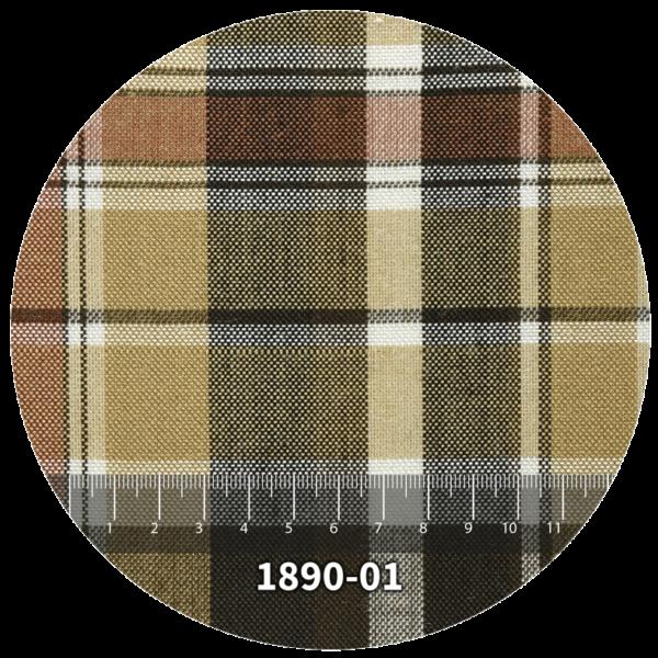 Tela escocés escolar modelo 1890-01