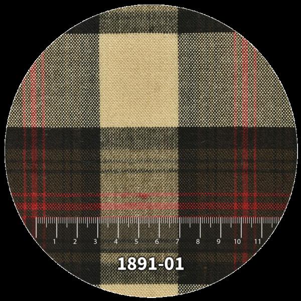 Tela escocés escolar modelo 1891-01
