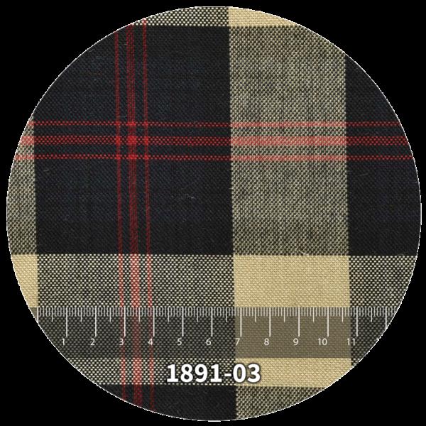 Tela escocés escolar modelo 1891-03