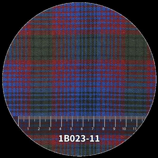 Tela escocés escolar modelo 1B023-11