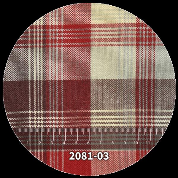 Tela escocés escolar modelo 2081-03