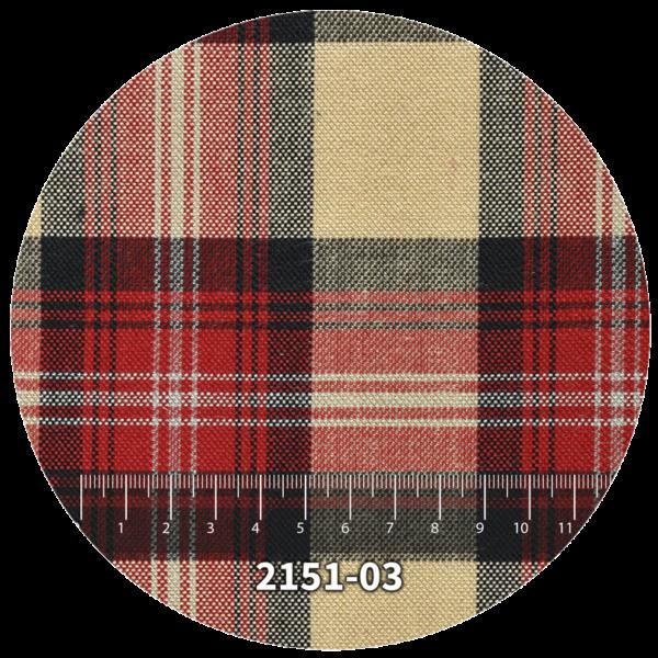 Tela escocés escolar modelo 2151-03
