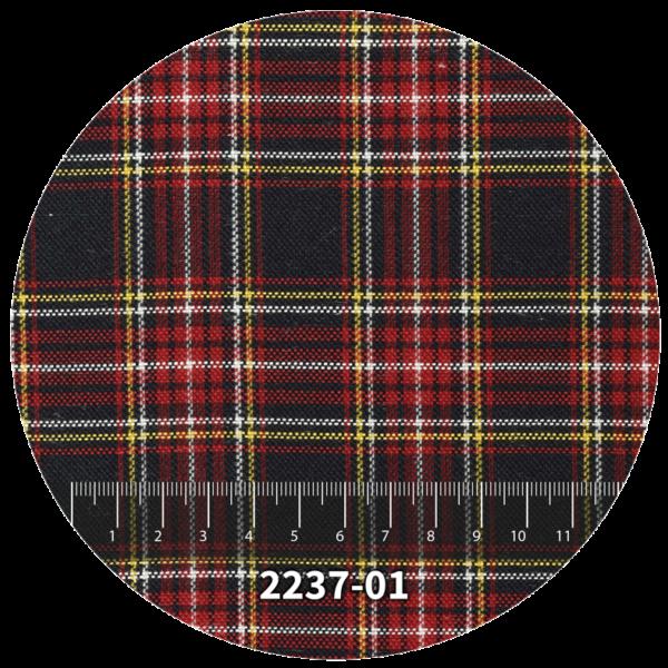 Tela escocés escolar modelo 2237-01