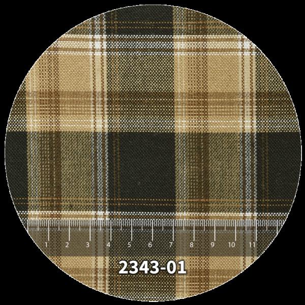 Tela escocés escolar modelo 2343-01
