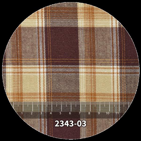 Tela escocés escolar modelo 2343-03