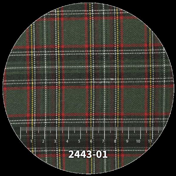 Tela escocés escolar modelo 2443-01