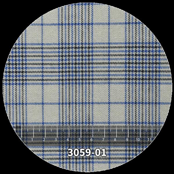Tela escocés escolar modelo 3059-01