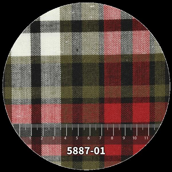 Tela escocés escolar modelo 5887-01