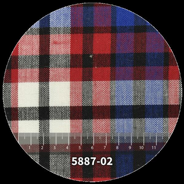 Tela escocés escolar modelo 5887-02
