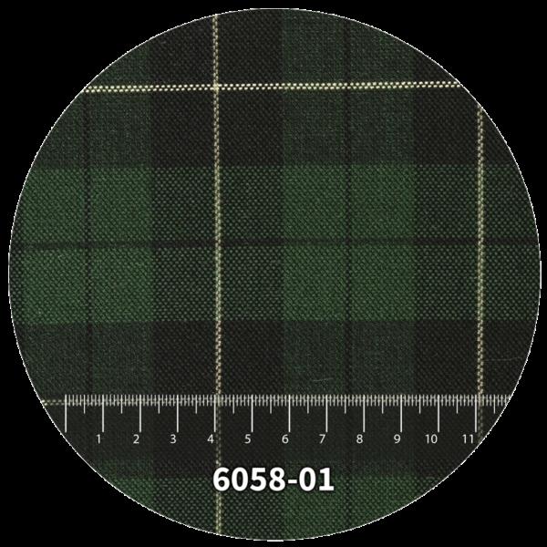 Tela escocés escolar modelo 6058-01