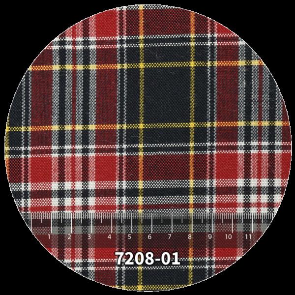 Tela escocés escolar modelo 7208-01
