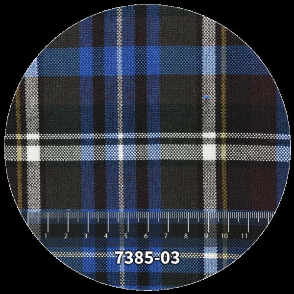 Tela escocés escolar modelo 7385-03