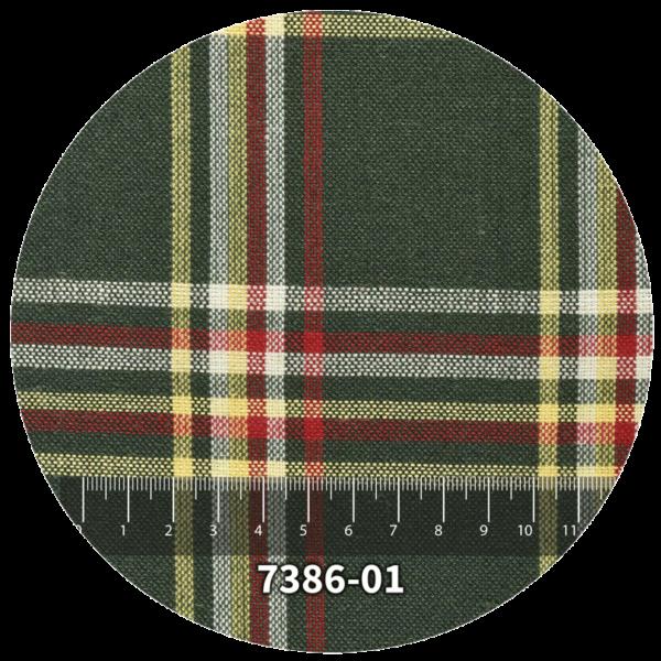 Tela escocés escolar modelo 7386-01