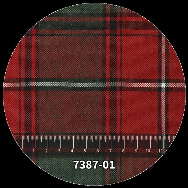 Tela escocés escolar modelo 7387-01