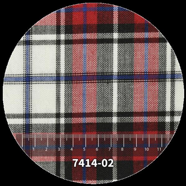 Tela escocés escolar modelo 7414-02
