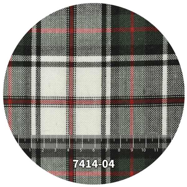 Tela escocés escolar modelo 7414-04