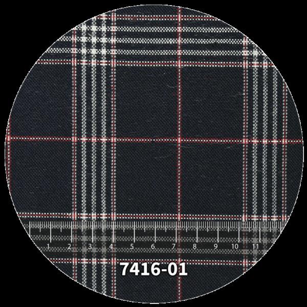 Tela escocés escolar modelo 7416-01