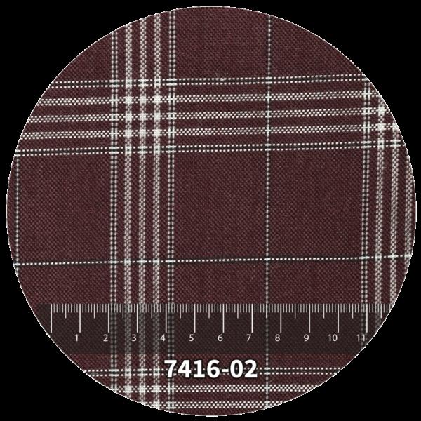 Tela escocés escolar modelo 7416-02