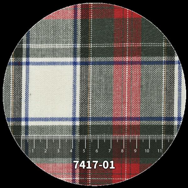 Tela escocés escolar modelo 7417-01