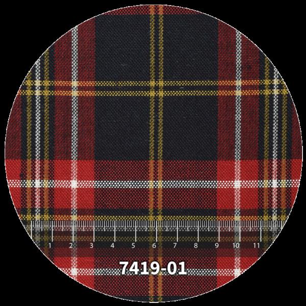 Tela escocés escolar modelo 7419-01