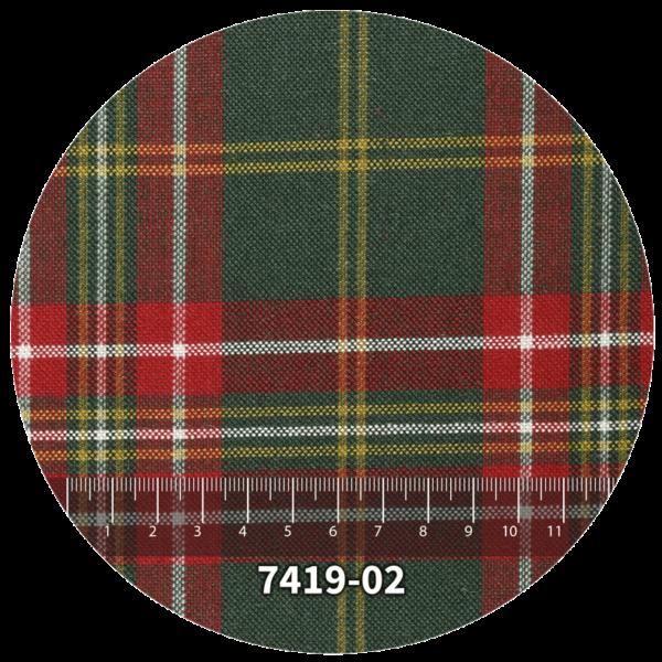 Tela escocés escolar modelo 7419-02