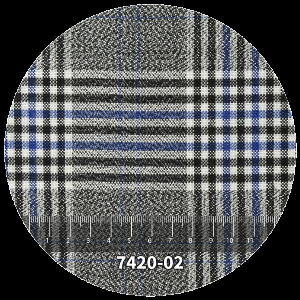 Tela escocés escolar modelo 7420-02