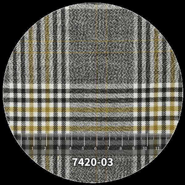 Tela escocés escolar modelo 7420-03