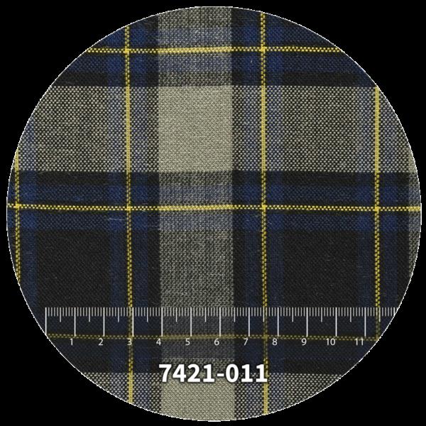 Tela escocés escolar modelo 7421-011