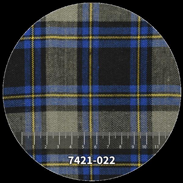 Tela escocés escolar modelo 7421-022