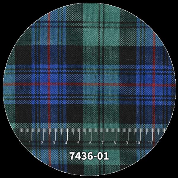 Tela escocés escolar modelo 7436-01