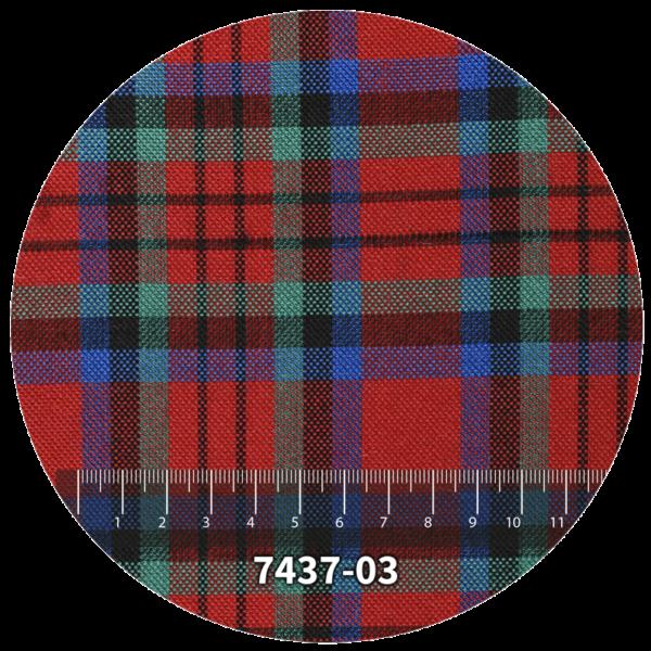 Tela escocés escolar modelo 7437-03