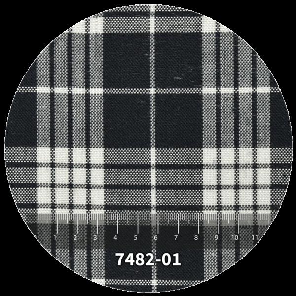 Tela escocés escolar modelo 7482-01