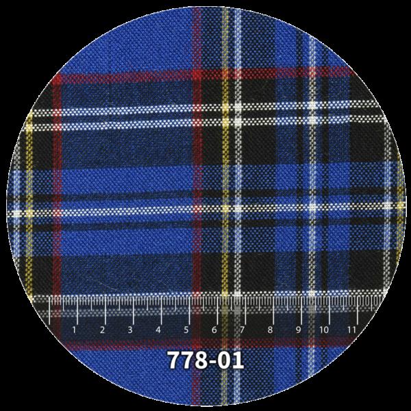 Tela escocés escolar modelo 778-01
