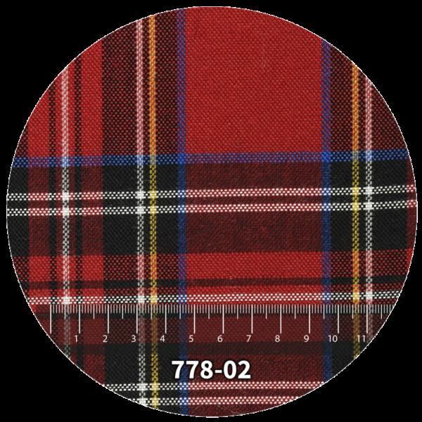 Tela escocés escolar modelo 778-02